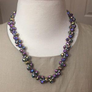 Kirks Folly Multi Color Crystal Necklace
